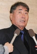 立川談志さんの『お別れの会』に参列した毒蝮三太夫 (C)ORICON DD inc.