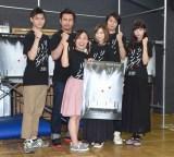 (左から)高崎俊吾、小柳心、キンタロー。、芹那、八神蓮、馬場ふみか (C)ORICON NewS inc.