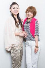 対談企画でお互いの想いをぶつけあった中澤裕子と石黒彩(写真:鈴木一なり)
