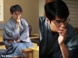 映画『聖の青春』で羽生善治氏(左)を演じる東出昌大