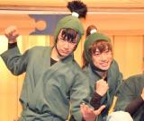 ミュージカル『忍たま乱太郎』公開ゲネプロに出席した(左から)秋沢健太朗、反橋宗一郎 (C)ORICON NewS inc.