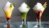 ANAインターコンチネンタルホテル東京(東京・港区)『シャンパン・バー』(3階)のかき氷カクテル3種