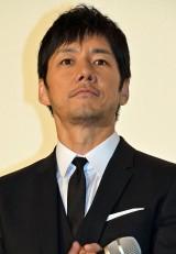 『クリーピー 偽りの隣人』初日舞台あいさつに登壇した西島秀俊 (C)ORICON NewS inc.