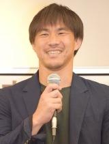 日本代表のブームは「アモーレ」だと明かした岡崎慎司選手 (C)ORICON NewS inc.