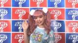 『高校生クイズ』東北会場の応援タレント・藤田ニコル (C)日本テレビ