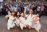 川島海荷(中央)脱退前に初のベスト盤をリリースした9nine