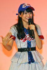 AKB48高校野球選抜の北原里英 (C)ORICON NewS inc.