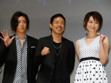 (左から)早乙女太一、EXILE MATSU、島袋寛子 (C)ORICON NewS inc.