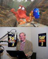 『ファインディング・ドリー』に登場するタコ・ハンクのモデルになったバド・ラッキー氏 (C)2016 Disney/Pixar. All Rights Reserved.