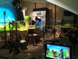 「こまねこ」が世界向けにリメイク『The Curious Kitty & Friends(原題)』邦題:『ワクワクこまちゃん(仮題)』制作風景(C)2016 Amazon.com,Inc. or its affiliates All Rights Reserved(C)TYO/dwarf・Komaneko Film Partners