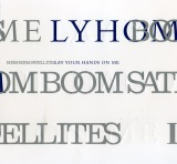 BOOM BOOM SATELLITESラストシングル「LAY YOUR HANDS ON ME」初回盤