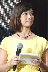 NETFLI×特別プレゼンテーション&イベントの司会を務めた住吉美紀 (C)ORICON NewS inc.