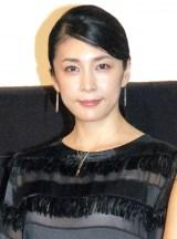 映画『クリーピー 偽りの隣人』大ヒット記念トークショーに出席した竹内結子