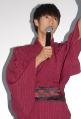 映画『MARS(マース)〜ただ、君を愛してる〜』大ヒット舞台あいさつに登壇した窪田正孝 (C)ORICON NewS inc.