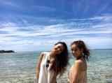 7月6日よりスタートするTBS系新番組『タビフク。』(毎週水曜 深夜25:53〜)第一回は石田ニコルと佐原モニカが沖縄の旅へ (C)TBS