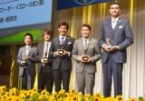(左から)石橋良治氏、日野晃博氏、照英、ヒロミ、大竹秀之 (C)ORICON NewS inc.