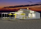 ナナナな海の家が由比ガ浜にオープン。番組収録も実施(C)テレビ東京