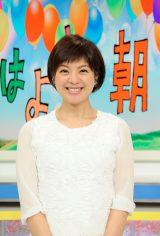 『おはよう朝日です』で妊娠を報告した喜多ゆかりアナウンサー(C)ABC