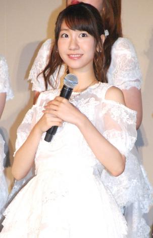 AKB48ドキュメンタリー映画第5弾『存在する理由 DOCUMENTARY of AKB48』舞台あいさつに出席した柏木由紀 (C)ORICON NewS inc.
