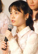 AKB48ドキュメンタリー映画第5弾『存在する理由 DOCUMENTARY of AKB48』舞台あいさつに出席した島崎遥香 (C)ORICON NewS inc.
