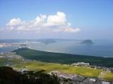 日本三大松原の一つ、虹の松原(佐賀県唐津市)
