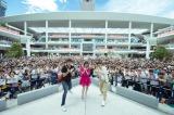 大原櫻子を一目見ようと約3000人が集まった