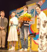 (左から)佐藤二朗、木村文乃、向井理、坂本冬美 (C)ORICON NewS inc.