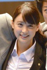 ドラマ『HOPE〜期待ゼロの新入社員〜』壮行会イベントに出席した山本美月 (C)ORICON NewS inc.