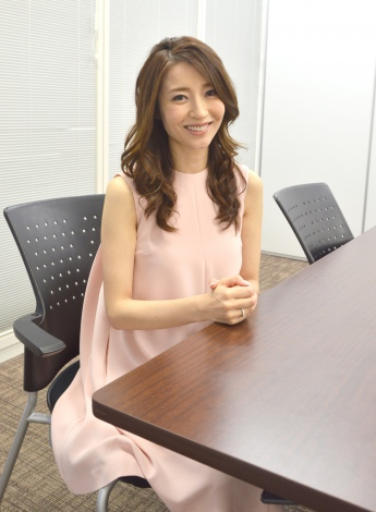 ORICON STYLEのインタビューに応じた川村ひかる (C)ORICON NewS inc.