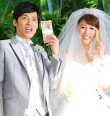 東貴博&安めぐみ夫妻(写真は2012年の結婚披露宴時) (C)ORICON NewS inc.