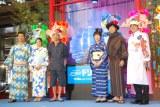 (左から)木村英智氏、中村アン、木梨憲武、室井滋、上川隆也、さかなクン (C)ORICON NewS inc.