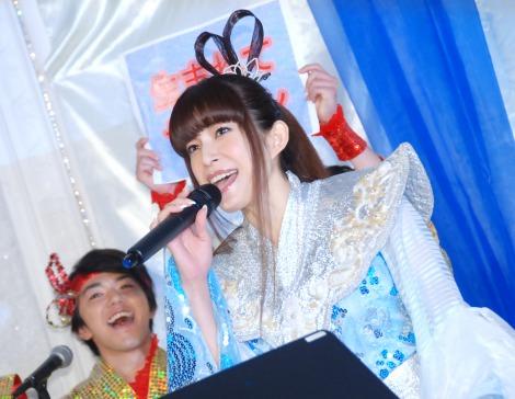 ミュージカル『TARO URASHIMA』製作発表会見に出席した上原多香子 (C)ORICON NewS inc.