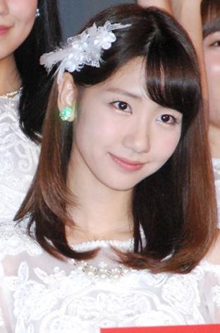 ドキュメンタリー映画第5弾『存在する理由 DOCUMENTARY of AKB48』初日舞台あいさつに登壇した柏木由紀 (C)ORICON NewS inc.
