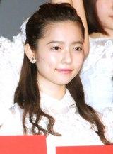 ドキュメンタリー映画第5弾『存在する理由 DOCUMENTARY of AKB48』初日舞台あいさつに登壇した島崎遥香 (C)ORICON NewS inc.