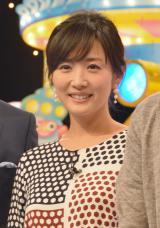 第2子出産後1ヶ月で仕事復帰した高島彩 (C)ORICON NewS inc.