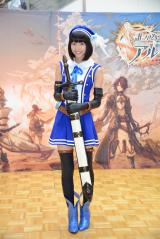 ゲームのキャラクターコスプレで登場した武田玲奈