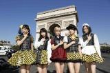 『JAPAN EXPO』(フランス・パリ)に初出演したベイビーレイズJAPAN(左から大矢梨華子、傳谷英里香、林愛夏、高見奈央、渡邊璃生)