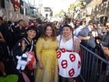 映画『ゴーストバスターズ』LAワールド・プレミアの模様(左から)渡辺直美、メリッサ・マッカーシー、友近