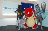 ウルトラ怪獣のバルタン、ダダ、ゼットン そしてレッドリドラがオリコン襲来 (C)ORICON NewS inc.