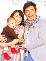 石田純一&東尾理子夫妻と息子の理汰郎くん(写真は2013年撮影) (C)ORICON NewS inc.