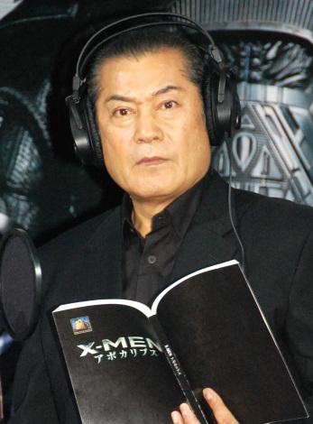 映画『X-MEN:アポカリプス』公開アフレコを行った松平健 (C)ORICON NewS inc.