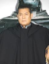 マント姿で登場した松平健=映画『X-MEN:アポカリプス』公開アフレコイベント(C)ORICON NewS inc.
