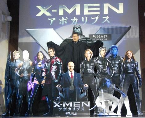 映画『X-MEN:アポカリプス』公開アフレコイベントに出席した松平健 (C)ORICON NewS inc.