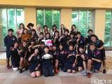 """『Love music〜FNSうたの夏まつり直前SP!! E-girls特別サプライズ企画!』でE-girlsが""""サクラセブンズ""""を激励"""