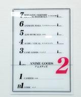 フロア看板もデザイン=「アニメイト」の初となる女性向け店舗『アニメイトAKIBAガールズステーション』 (C)ORICON NewS inc.