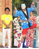 無事に和解(?)したフジテレビ・亀山千広社長(左)と永野 (C)ORICON NewS inc.