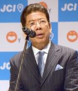 『吉本興業×日本青年会議所 包括提携協定』記者会見に出席した西川きよし (C)ORICON NewS inc.