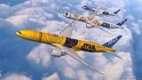 ANAのスター・ウォーズジェット特別塗装機に人気キャラクター「C-3PO」モデルが仲間入り。「R2-D2」と「BB-8」に続き3機目(画像提供:全日本空輸)