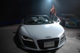 発表会にはスーパーGT初の女性ドライバーであるシンディ・アレマン選手も登場