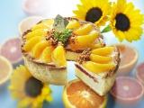 「パブロ」8月の季節限定タルトは『たっぷりオレンジのチーズタルト』